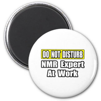 Stoor… geen NMR Deskundige op het Werk Koelkast Magneet