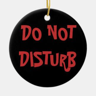 Stoor niet Gekomen in de hanger van de Deur Rond Keramisch Ornament