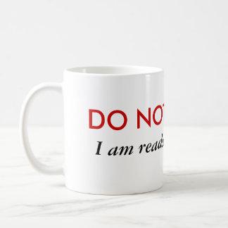 Stoor niet ik lees ventilator fic koffiemok