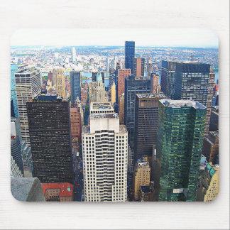 Stootkussen van de Muis van de Stad van New York Muismatten