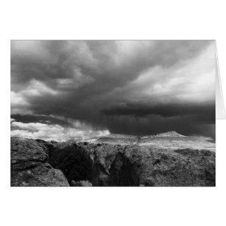 Storm die, Deming, NM zich binnen bewegen Briefkaarten 0