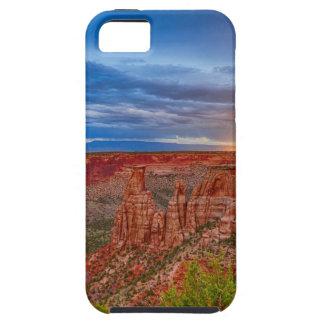 Stormen van de Avond van het Monument van Colorado Tough iPhone 5 Hoesje