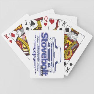 Stovebolt Gestapeld Dek Speelkaarten