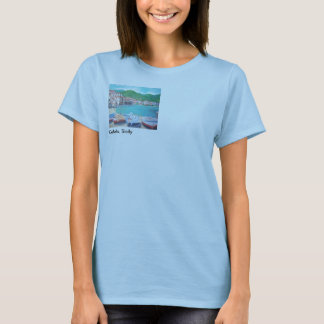 Strand bij Oude haven & Porta Pescara in Overhemd T Shirt