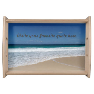 Strand Dienblad