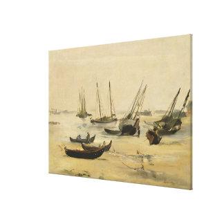 Strand, Eb Canvas Afdrukken