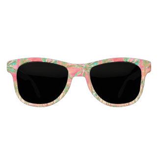 Strand/het Koraal van PixDezines het Vintage Zonnebril