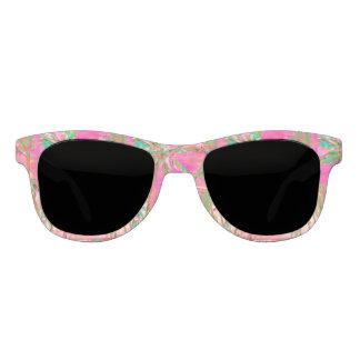 Strand/het Roze van PixDezines het Vintage Zonnebril
