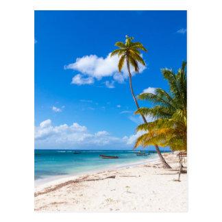 Strand in Dominicaanse Republiek Saona Briefkaart