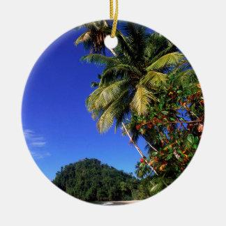 Strand Paria Trinidad Rond Keramisch Ornament
