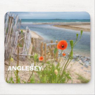 Strand van het Uitzicht van Wales van Anglesey het Muismatten