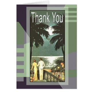 Strand van Miami van het art deco dankt het Briefkaarten 0