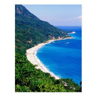 Stranden, Barahona, Dominicaanse Republiek, Briefkaart