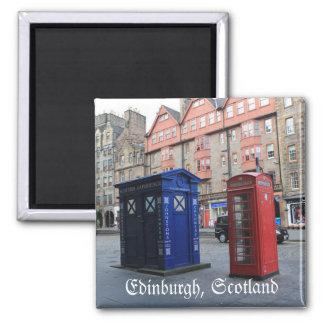 Straten de koelkastmagneet van van Edinburgh, Magneet