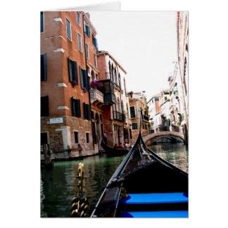 Straten van Venetië Wenskaart