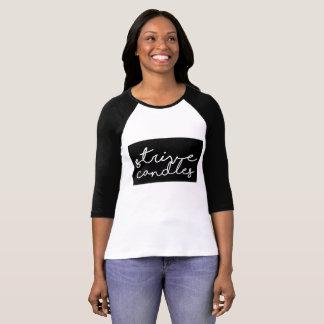 Streef het Overhemd van de Vrouwen van Kaarsen T Shirt