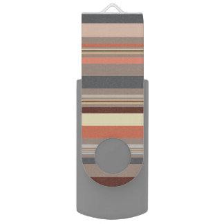 Strepen - Retro Tonen USB Stick