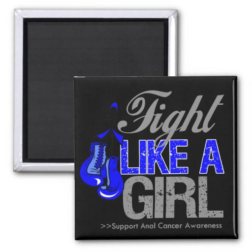 Strijd zoals een Meisje die - Anale Kanker in doze Magneten