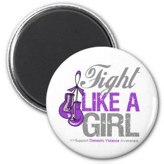 Strijd zoals een Meisje die - Binnenlands Geweld i Koelkast Magneten
