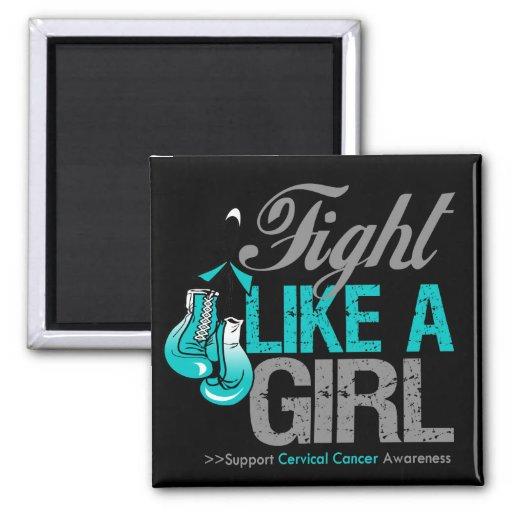 Strijd zoals een Meisje die - Cervicale Kanker in  Magneten