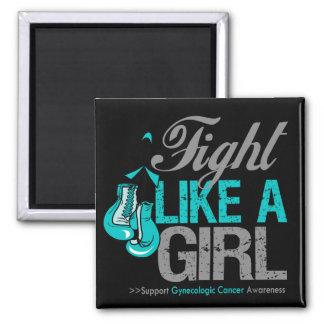 Strijd zoals een Meisje die - Kanker Gynecologic i Magneet