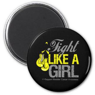 Strijd zoals een Meisje die - Kanker van de Blaas  Koelkast Magneten