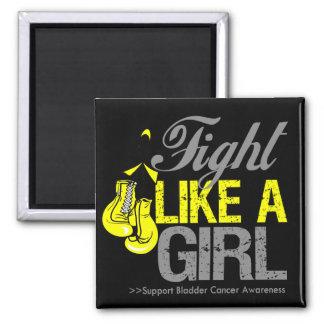 Strijd zoals een Meisje die - Kanker van de Blaas  Magneten