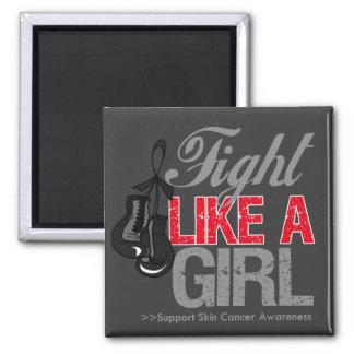 Strijd zoals een Meisje die - Kanker van de Huid i Magneet