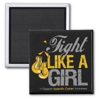 Strijd zoals een Meisje die - Kanker van het Bijla Magneet