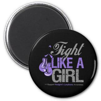Strijd zoals een Meisje die - Lymphoma Hodgkins in Magneten