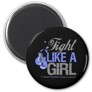Strijd zoals een Meisje die - Maagkanker in dozen  Koelkast Magneetjes