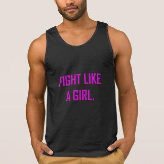 Strijd zoals een Meisje Hemd