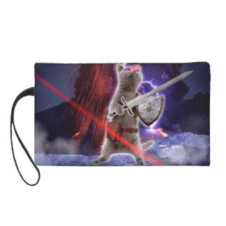 strijders katten - ridderkat - kattenlaser wristlet
