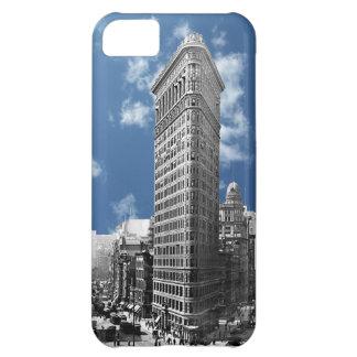 Strijkijzer die Manhattan 1910 bouwen iPhone 5C Hoesje