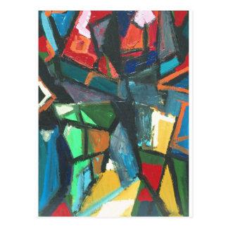 Strikt Binnenland (abstract binnenland) Briefkaart