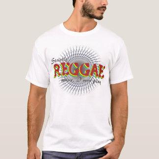 Strikt Reggae Muziek I Spel Mon T Shirt