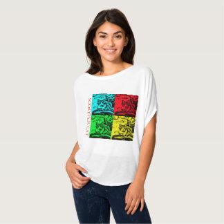 Stromende T - shirts die - de Kat van de Autoped