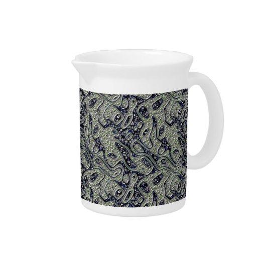 Stromende texturenwaterkruik bier pitcher