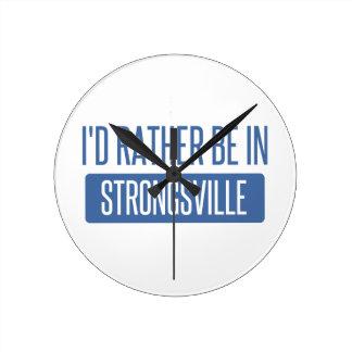 Strongsville Ronde Klok