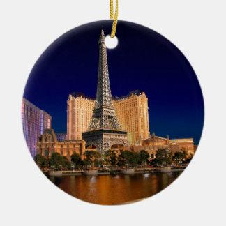 Strook 5 van Las Vegas Rond Keramisch Ornament