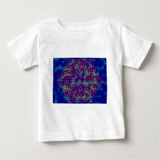Stropdas-kleurstof Keltische Knoop Baby T Shirts