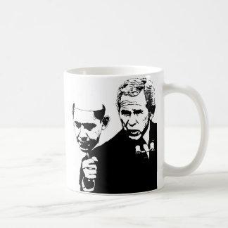 struik met obamamasker koffiemok