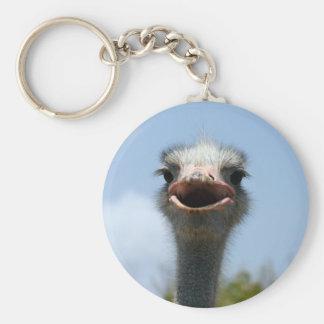 struisvogel sleutelhanger
