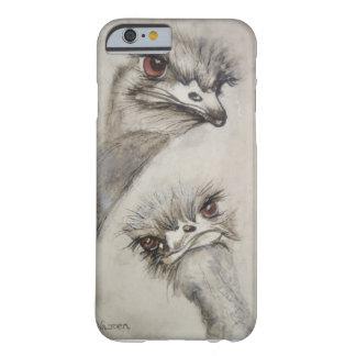 Struisvogels, Vogels, Klein Karoo, Dieren, Barely There iPhone 6 Hoesje