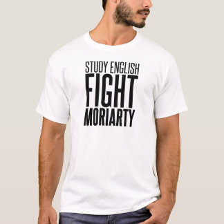 Studie het Engels, Strijd Moriarty T Shirt