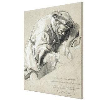 Studie van Ambroise Pare Canvas Afdruk