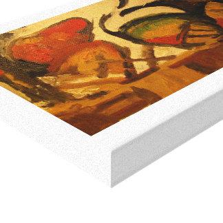 Studie van Cezanne Canvas Bedrukken
