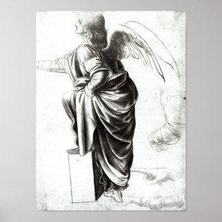 Studie van een Engel Poster
