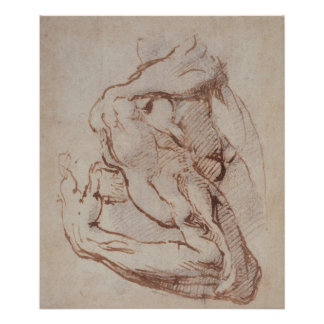 Studie van een Wapen Inv.1859/5/14/819 Poster