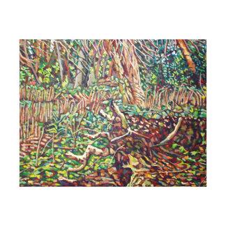 Studie voor Boomstam 2 Stretched Canvas Prints